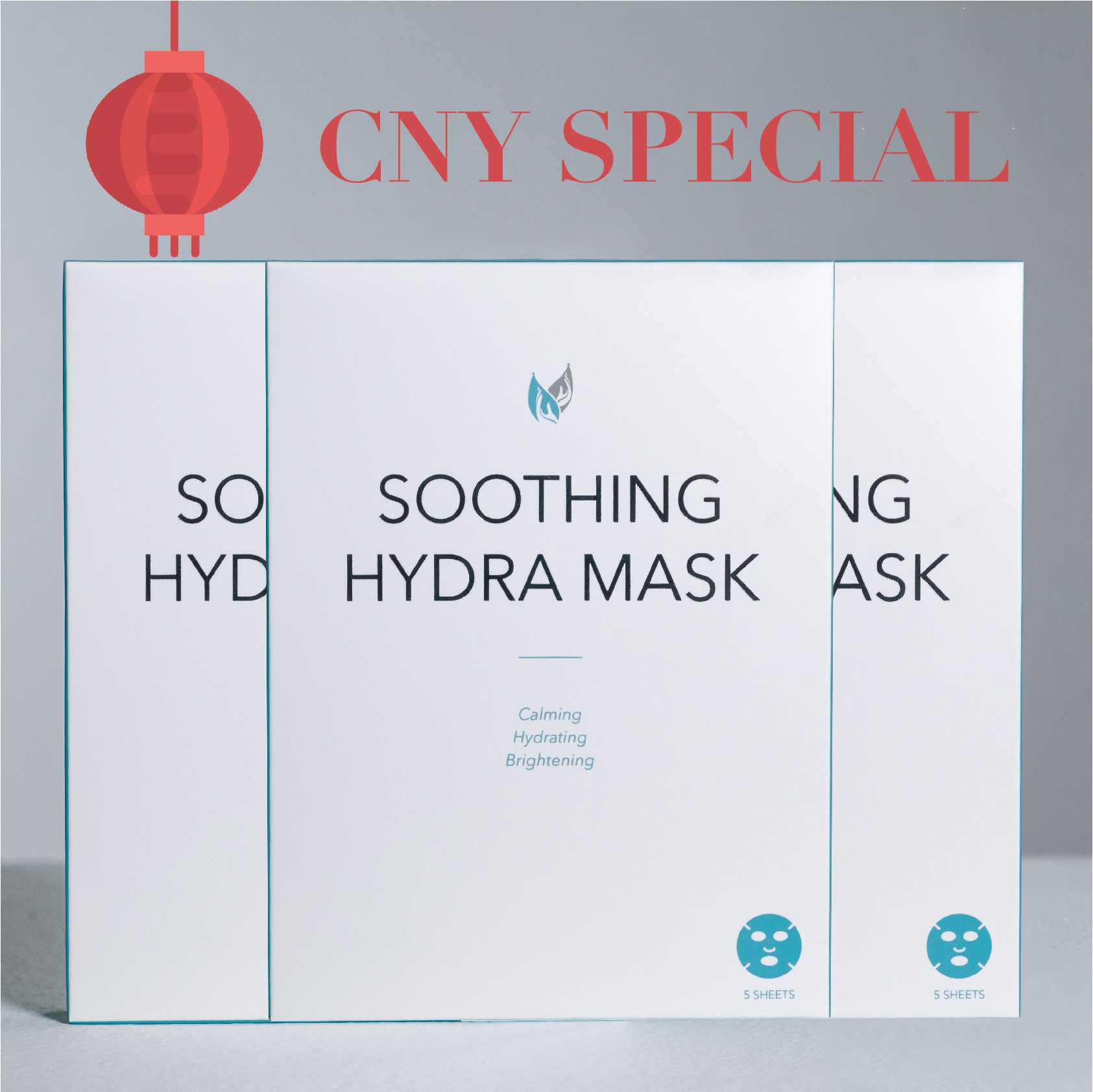 CNY Special Promo Soothing Hydra Mask Triple Pack